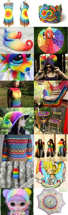 A #Rainbow a Day... by Sarah Withrow on Etsy