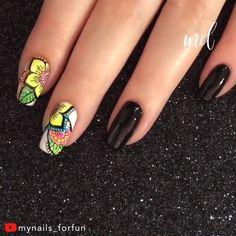 Beautiful stamp floral nail art By: Mynails_forfun Source by metdaannails - Nail Art Blog, Nail Art Videos, Nail Art Diy, Nails Now, Polygel Nails, Nagel Stamping, Stamping Nail Art, Long Nail Art, Long Nails