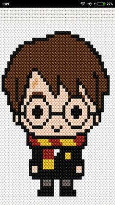 Trendy knitting patterns harry potter perler beads Ideas - knitting is so . - Trendy knitting patterns harry potter perler beads Ideas – knitting is as easy as 3 Kni - Harry Potter Perler Beads, Harry Potter Crochet, Harry Potter Quilt, Cross Stitch Charts, Cross Stitch Designs, Cross Stitch Patterns, Diy Perler Beads, Perler Bead Art, Knitting Charts