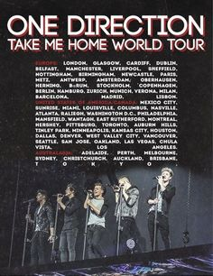 500 Tmh Tour One Direction Ideas One Direction Directions I Love One Direction