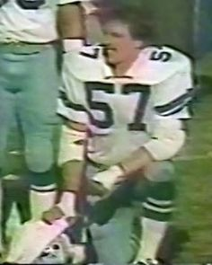 Reserve linebacker BRUCE HUTHER (57)--November 18, 1979 Cowboys 4, Dallas Cowboys, Win Or Lose, Helmets, Fence, November, Texas, America, Sports