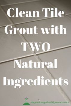how to clean black grout