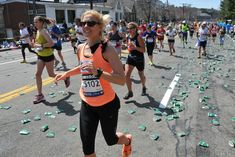 Finishing the Boston Marathon