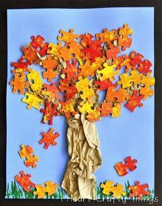 Puzzle d'autunno