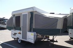 Pop up camper--we used to have one of these....had fun!