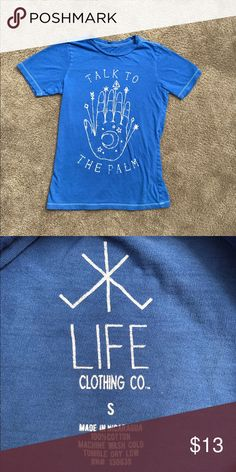 Palmistry Tshirt Great condition!! Super cute. Not brand listed. Urban Outfitters Tops Tees - Short Sleeve