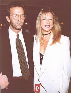 Pattie Boyd And Eric Clapton 1993