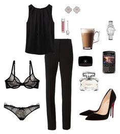 Anastasia Grey - Black SIP Outfit by ohmyfifty on Polyvore                                                                                                                                                                                 Más