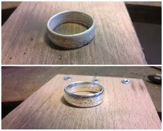 The Lord Of The Rings Ring in Sterling Silver. Ive finished it!