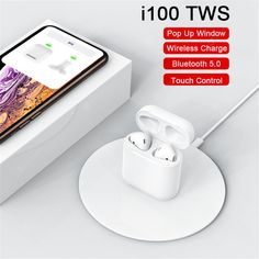 Buy TWS Wireless Charging Pop-up Touch Bluetooth Headset Subwoofer Headset, sale ends soon. Be inspired: enjoy affordable quality shopping at Gearbest! Headphones Online, Headphones For Sale, Bluetooth Headphones, Pop Up Window, Noise Reduction, Headset, Consumer Electronics, Touch, Popup