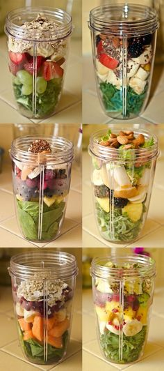 Great recipes for smoothies- hopefully I can use my magic bullet since I don't have a nutribullet. #weightloss
