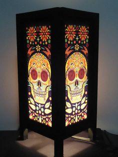 http://www.amazon.com/Vintage-Handmade-Oriental-Lamp-Thailand/dp/B00FH3R63O/ref=as_li_ss_tl?ie=UTF8&qid=1448405535&sr=8-1&keywords=sugar+skull+lamp&linkCode=sl1&tag=pinterestmss-20&linkId=f171b55f728ad5ee94d60d5893670b5e
