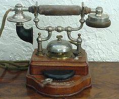 Téléphone Ericsson avec combinateur 10 directions de 1893