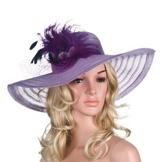 Country Summer Church Hat