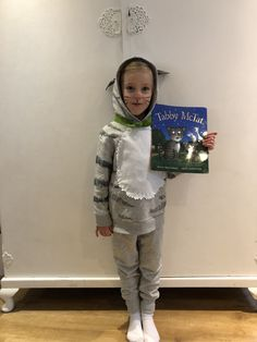 Tabby McTat costume for World Book Day