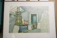 Nikos Hadjikyriakos Gkikas, Atelier, Signed & Numbered Screenprint, 79/150