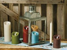 On our July 2015 cover: Extra-large galvanized lantern and flameless candles from The Red Brick Cottage, see page 59 of the issue.