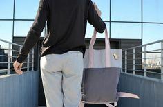 baGGy shopping bag Handmade Bags, Shopping Bag, Spring Summer, Tote Bag, Fashion, Moda, Handmade Handbags, Fashion Styles, Totes