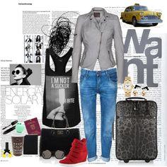 """Narita airport"" by ceciloredo on Polyvore"
