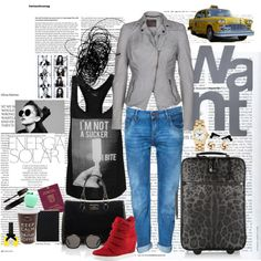 """Narita airport"" by ceciloredo on Polyvore"