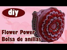 Crochet tutorial that teaches you how to make a crocheted hand bag this purse is made with a short handle but can be adjusted. Pop Tab Purse, Soda Can Tabs, Crochet Handbags, Bag Making, Flower Power, Diy, Make It Yourself, Knitting, Youtube