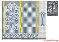 Mittens Pattern, Knit Mittens, Mitten Gloves, Knitting Socks, Cat Pattern, Knitting Basics, Knitting Charts, Knitting Patterns, Crochet Cross