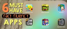 It's me, Matt from Digital: Divide & Conquer , to share some of my favorite math apps for improving fact fluency (and making them more f. Best Math Apps, Parenting Ideas, Number Sense, Must Haves, Chalkboard, Classroom, Facts, Class Room, Chalkboards