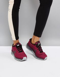 reputable site 635a5 77973 Get this Nike s basic sneakers now! Click for more details. Worldwide  shipping. Nike Running Air Max 2017 Trainers In Purple - Purple  Air Max  2017 trainers ...
