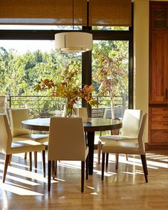 Contemporary Dining Room Design Ideas, Pictures, Remodel and Decor