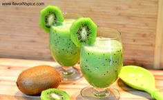 Kiwi-Cantaloupe Smoothie, 1. ½ Honeydew Melon 2. 4 ripe Kiwis 3. Juice of half a lime 4. 1 tablespoon of honey (or adjust according to your taste) 5. ½ cup of water (I needed this to get the blender working but if you have a Vitamix or something similar, you won't need any water).
