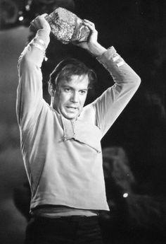 "Captain Kirk (William Shatner) - Star Trek: The Original Series S01E03: ""Where No Man Has Gone Before"" (First Broadcast: September 22, 1966)"