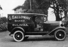 Whippet delivery van, ca.1929 - Galloways Hill suburb name came from?