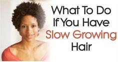 slow growing hair