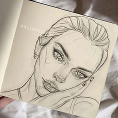 Cool Art Drawings, Pencil Art Drawings, Realistic Drawings, Art Drawings Sketches, Arte Sketchbook, Sketchbook Tumblr, Sketchbook Ideas, Sketchbook Inspiration, Photographie Portrait Inspiration