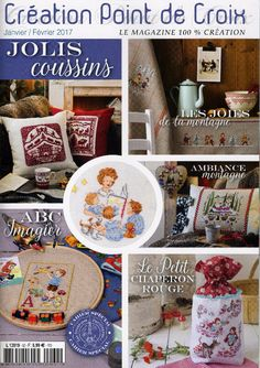 ru / Photo n ° 1 - 62 - Cross Stitch Magazines, Le Point, Cross Stitching, Embroidery Patterns, Needlework, Decorative Plates, Frans, Hobby, Couture
