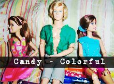 Barbie Top Models: Candy - Colorful
