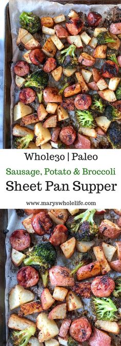 Sheet pan supper