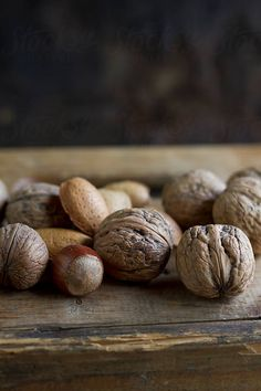 Nuts by Noemi Hauser - Nut, Walnut - Stocksy United Fruity Loops, Mixed Nuts, Coffee And Books, Kids Nutrition, Fruits And Vegetables, Soul Food, Food Pictures, How To Stay Healthy, Food Photography