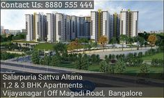 http://www.propreview.in/bangalore/salarpuria-sattva-altana/ Contact Us : 8880 777 111   Salarpuria Altana Bangalore is positioned in the chief place of within an ace of Vijay Nagar Extension Sumanahalli Bridge at off Magadi Road in Bangalore plus enjoys good connectivity to all dots of attention to be found in the whole Bangalore.