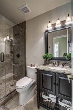 Nice 55 Cool Small Master Bathroom Remodel Ideas https://homeastern.com/2017/06/23/55-cool-small-master-bathroom-remodel-ideas/
