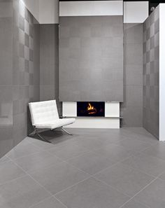 A touch of grey  #BathroomTiles  http://www.banjolux.com