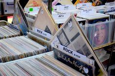 Records at the VIP's London Victoria Record Fair
