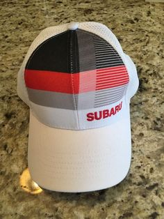 Official Subaru Car Front Stripe Cap Adult Adjustable Hat  fashion   clothing  shoes  accessories  mensaccessories  hats (ebay link) 1457fb5be254