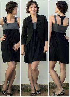blog vitrine @ugust@ LOOKS | por leila diniz: look romântico no vestido novo, embora quase todo black + msg de DEUS: por onde seguir?
