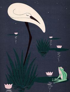 Sleepy Book illustrations by Bobri - 1958