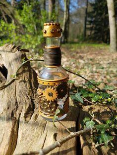 Steampunk flesje