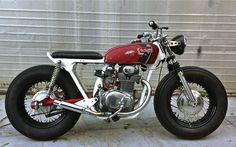 1972 HONDA CB350 - TOP MOTORSPORTS - INAZUMA CAFE RACER
