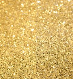 Gold glitter. Great glam alternative to throwing birdseed or rose petals for a wedding exit.
