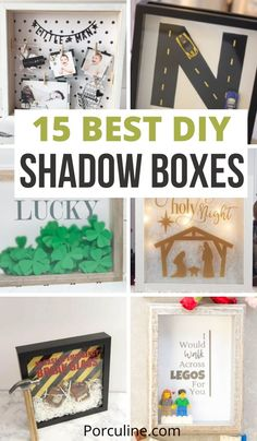 Diy Shadow Box, Easy Paintings, Legos, Holi, Are You The One, Sewing Crafts, Easy Diy, Display, Make It Yourself