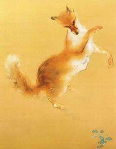 Fox by Takeuchi Seiho